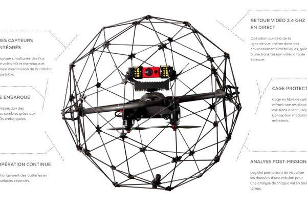 Nouveau service : inspection télévisuelle avec drone d'intérieur
